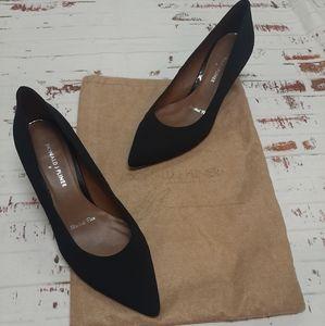 Donald J. Pliner black pump heels